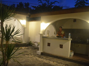 Gili island accommodation romantic villa gili air