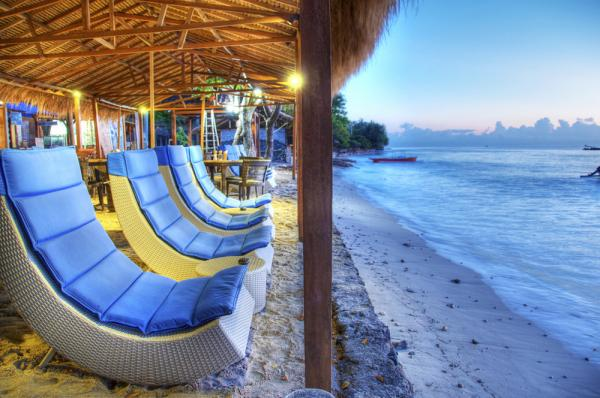 The Waterfront Hotel, Gili Air accommodation