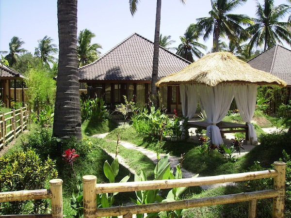 Villa Bulan Madu Gili Air accommodation