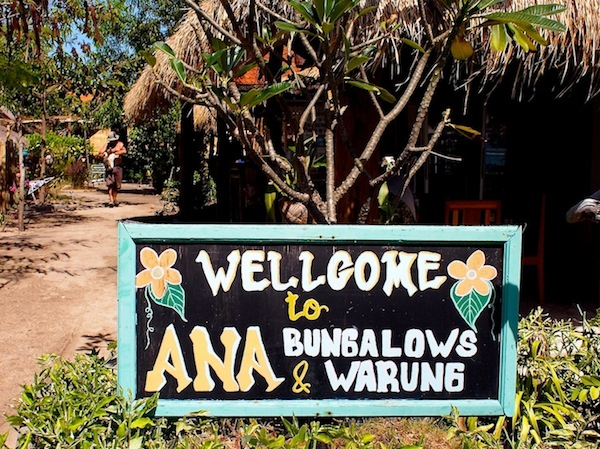Ana Warung & Bungalows, Gili Meno accommodation