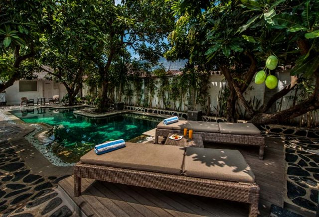 Scallywags Mango Retreat, Gili Air accommodation