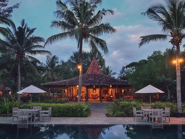 traditional villa gili trawangan